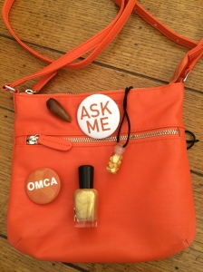 My First Orange Bag!