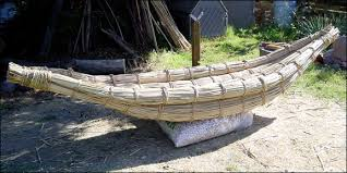This is a tule boat or raft.