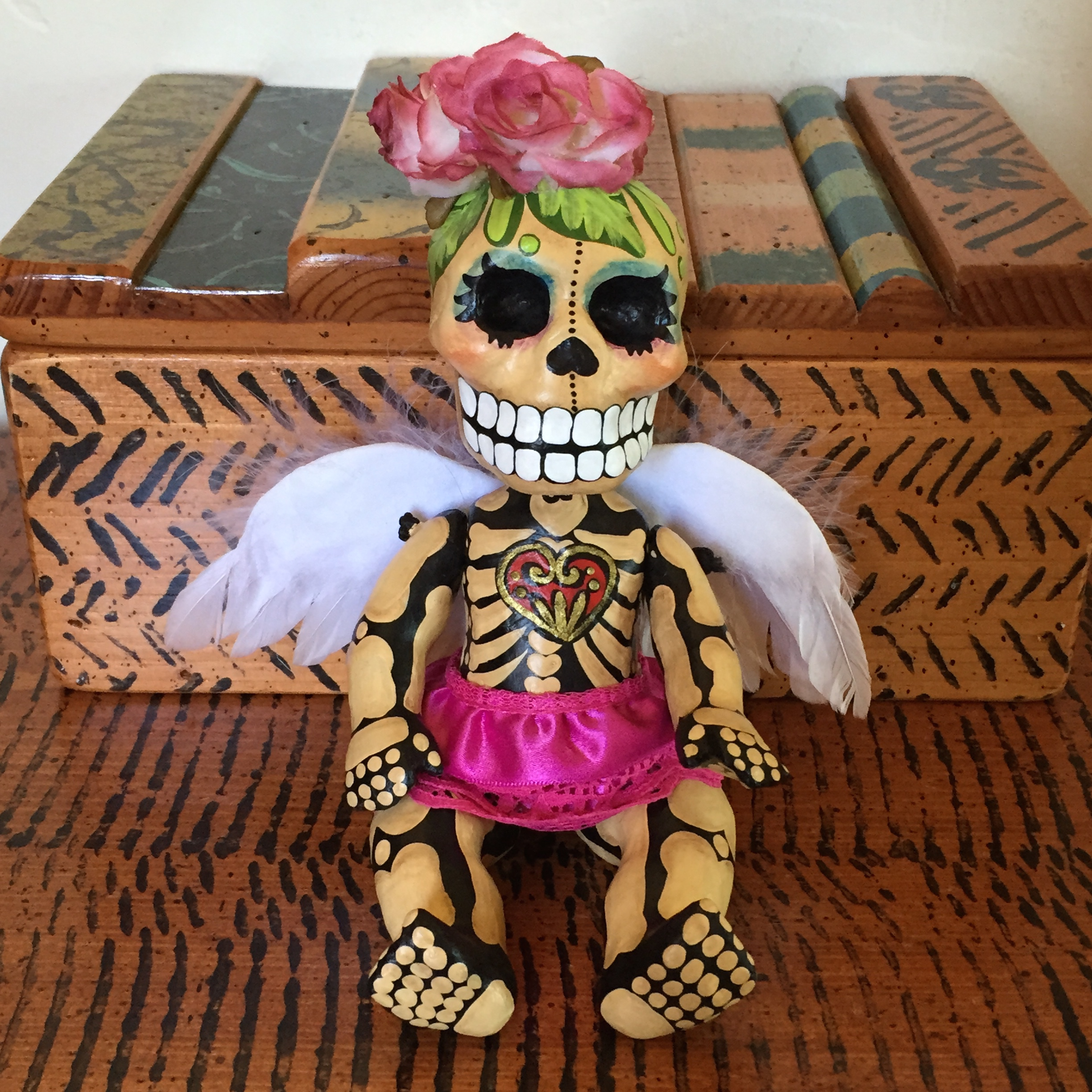 we ourselves dias de los muertos herstory my first calaca an angelita for datildeshya de los angelitos