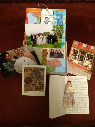The cigar box with my momentos of my cousin Nancée