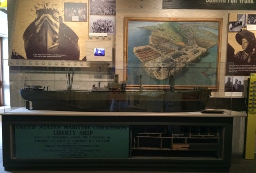 Kaiser Liberty Ship Model sent to FDR