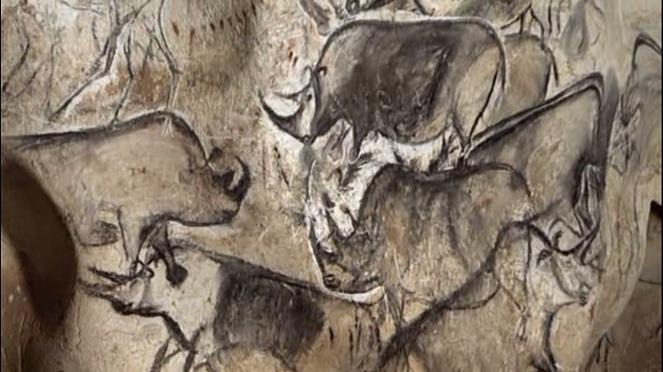 rhinos_chauvet_cave